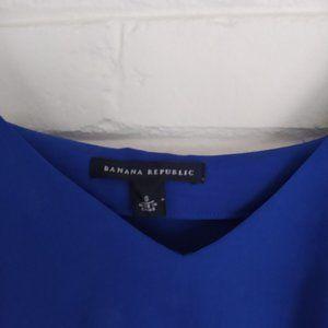 Banana Republic Tops - Blue V-Neckline Sleeveless Banana Republic Blouse